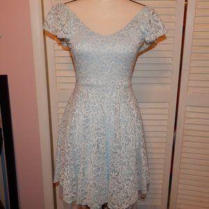 DISNEY LAUREN CONRAD CINDERELLA DRESS LIGHT BLUE S